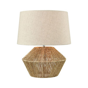 Vavda Natural 19-Inch One-Light Table Lamp