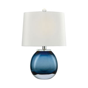 Playa Linda Blue 19-Inch One-Light Table Lamp