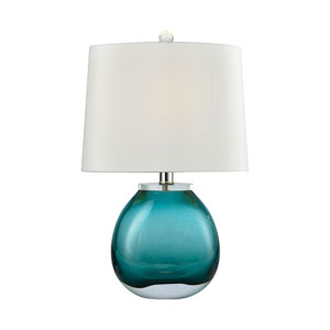 Playa Linda Green 19-Inch One-Light Table Lamp