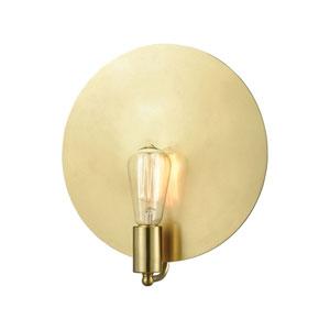 Sunscreen New Aged Brass One-Light Wall Sconce