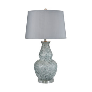 Cherie Blue Grey Frost 29-Inch One-Light Table Lamp