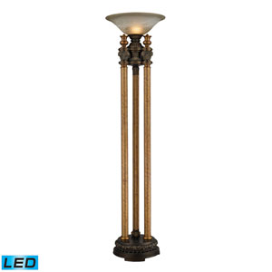 Athena Athena Bronze One Light LED Uplight Torchiere