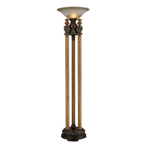 Athena Athena Bronze One Light Uplight Torchiere