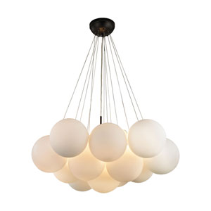 Cielo Oil Rubbed Bronze Three-Light Chandelier