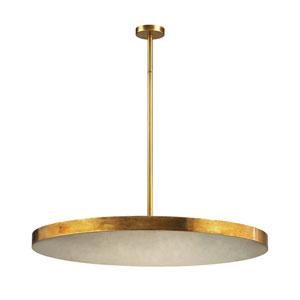 Laigne Gold Leaf Four-Light Pendant