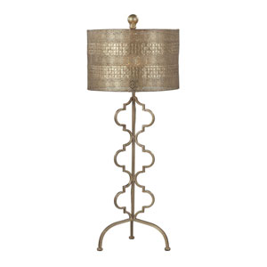 Gold Leaf 34-Inch One Light Table Lamp