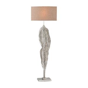 Katerini Nickel One-Light Floor Lamp