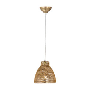 Maille Gold One-Light Mini Pendant
