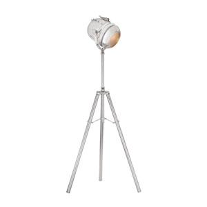 Glitz Nickel One-Light Floor Lamp