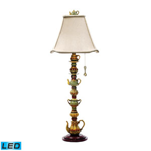 Tea Service Candlestick Burwell One Light LED Table Lamp