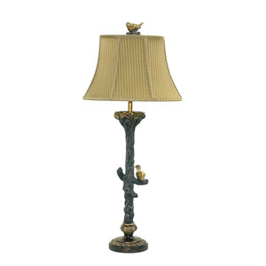 Bird On Branch Metal One Light Table Lamp