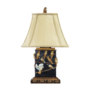 Birds On A Branch Composite One Light Table Lamp