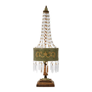 Eiffel Metal 25-Inch One Light Table Lamp