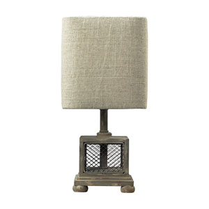 Delambre Montauk Grey One Light Mini Lamp