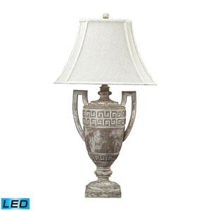 Greek Key Allesandria One Light LED Table Lamp