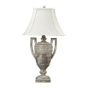 Greek Key Allesandria One Light Table Lamp