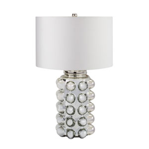 Bubble Silver Mercury One-Light Table Lamp
