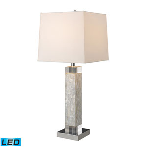 Luzerne Mother Of Pearl One Light LED Table Lamp