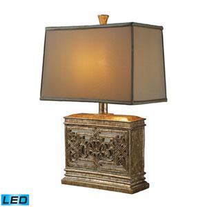 Laurel Run Courtney Gold One Light LED Table Lamp