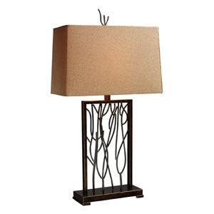 Legacies Belvior Park Aria Bronze And Iron One-Light Table Lamp