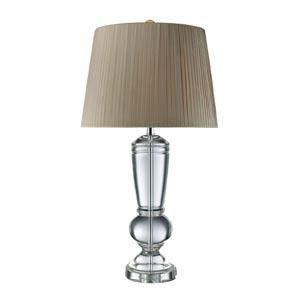 Legacies Castlebridge Clear Crystal One-Light Table Lamp