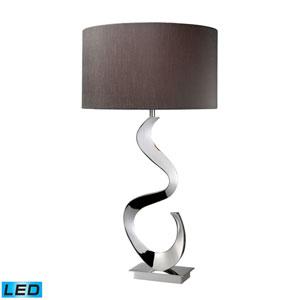 Morgan Chrome One Light LED Table Lamp
