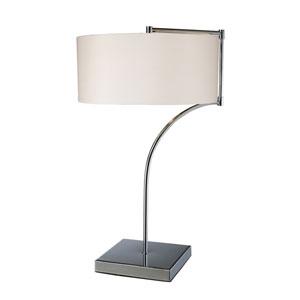 Lancaster Chrome LED Table Lamp