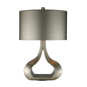 Trendsitions Carolina Silver Leaf One-Light Table Lamp