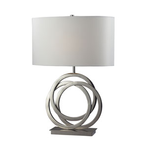 Trinity Polished Nickel Table Lamp
