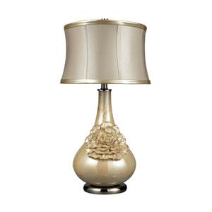 Eleanor Pearlescent Cream Table Lamp