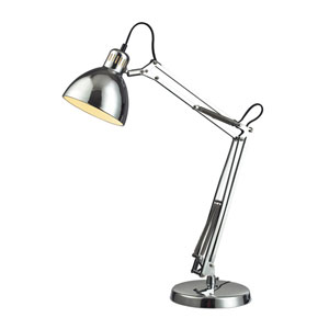 Ingelside Chrome LED Table Lamp