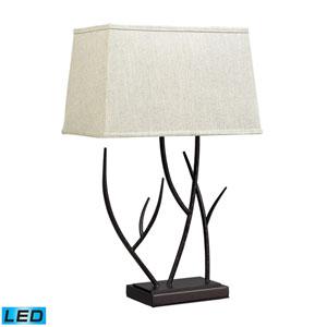 Winter Harbour Bronze One Light LED Table Lamp