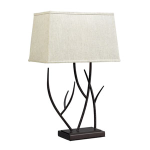 Winter Harbour Bronze Table Lamp