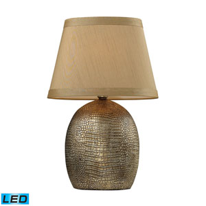 Gilead Meknes Bronze One Light LED Table Lamp