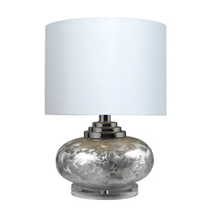 Frost 20-Inch Frosted Finish Table Lamp