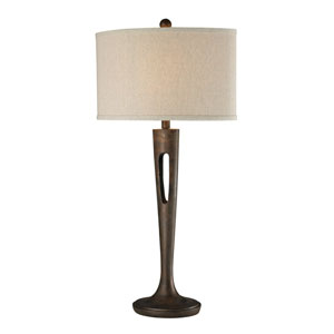 Martcliff Burnished Bronze LED Table Lamp