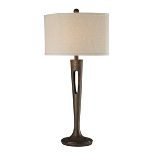 Martcliff Burnished Bronze One Light Table Lamp