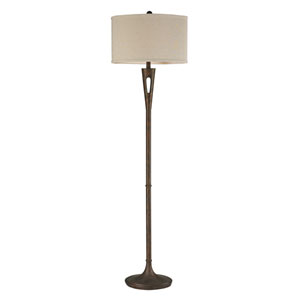 Martcliff Burnished Bronze One Light Floor Lamp