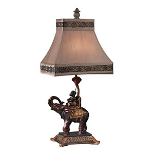 Alanbrook Brasilia Bronze One Light Table Lamp