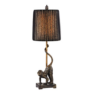 Aston Bissau Bronze One Light Table Lamp