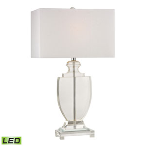 Avonmead Clear One Light LED Table Lamp