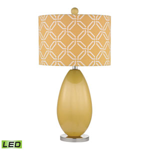 Sevenoakes Sunshine Yellow One Light LED Table Lamp