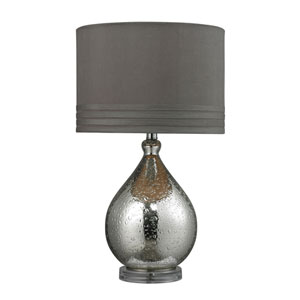 Bubble Glass Mercury Plating LED Table Lamp