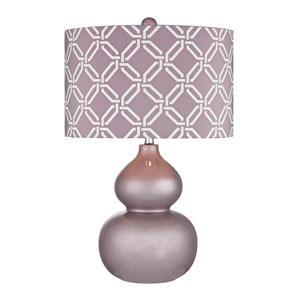 Ivybridge Lilac Luster One Light Table Lamp