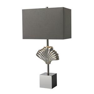 Vergato Polished Chrome LED Table Lamp