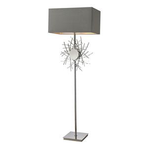 Cesano Polished Nickel LED Floor Lamp