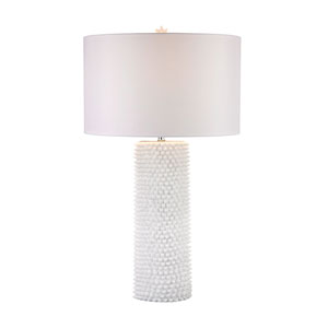 Punk White One-Light Table Lamp