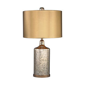 Gold Mercury Antique Gold One-Light Table Lamp