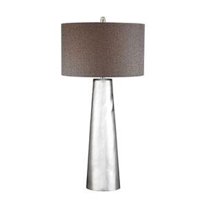 Mercury Glass LED Table Lamp