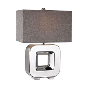 Chrome Plating 22-Inch LED Table Lamp